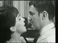Vintage sexual tension and nylon stockings