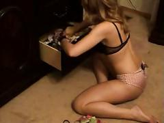 Ashley brookes - panty drawer