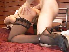 hardcore, blowjob, anal, tube8.com, red head, huge tits, glamour, stockings, masturbating, eating pussy, doggy style, cum in mouth