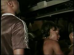 Black girl sucks cock and gets her tight pussy black cock filled