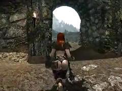 Skyrim girls in trouble