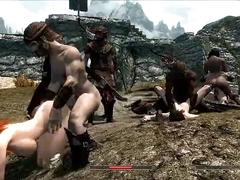 Skyrim girls in trouble