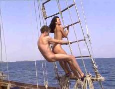 Anita dark on boat