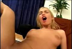 Double fuck for sophie and hard shoot creampie!!!