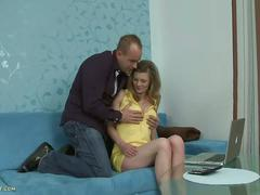 Hot blonde cougar kelli gets banged hard