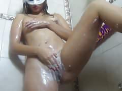 Fresamora en el baño para miracomofollo.com
