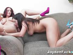 Jayden jaymes and taylor vixen lesbian scene.