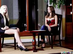 Hot busty buffy interviewed by angel wicky