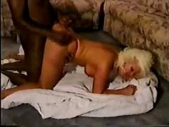 Mature blonde forced to take bbc pt 3