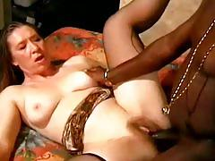 hardcore, tube8.com, interracial, bbc, sucking cock, brunette, natural tits, lingerie, stockings, trimmed, doggy style, reverse cowgirl, ass fucking, facial