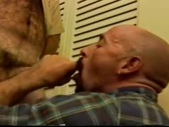 Horny soldier hard bodied hairy muscled gay bear daddies fucking