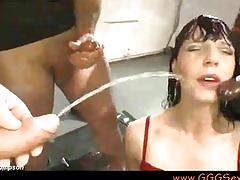 hardcore, gggsexbox, johnthompson, bukkake, brunette, groupsex