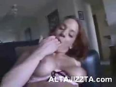 big boobs, big cock, cunnilingus, gonzo, interracial, one-on-one, oral, pov, redhead, straight sex