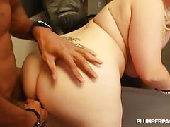 hardcore, plumperpass.com, chubby, bbw, big naturals, class room, blonde, interracial, detention, bbc, doggy style