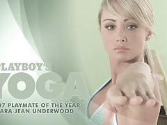 Sara jean underwood - nude yoga