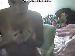 Nasty gf masturbates in front of the cam