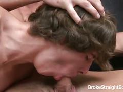 Broke straight anal fuckers ross and kodi