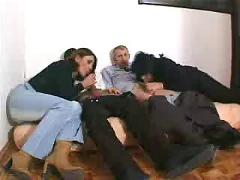 group sex, matures, old + young