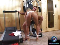 Gym fucking is what the horny linda shane want