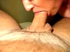 Closeup cock sucking!