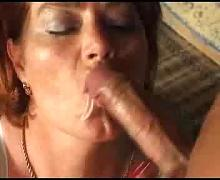 Old whores double penetrated