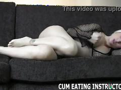 Miss tiffany makes you taste your own cum cei