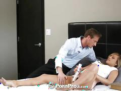 facial, hardcore, blonde, blowjob, doggystyle, pussy-eating, ryan-mclane, kennedy-leigh