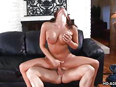 anal, high heels, big boobs, riding cock, brunette milf, spreading legs, deepthroat blowjob, tit groping, anal hd, tory lane