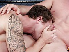 gay handjob, gay, gay deepthroat, tattooed, big dick, muscled, interview, gym, next door casting, next door world, markie more, pierce hartman