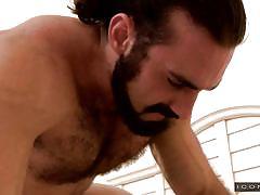 Hairy macho man fucks the tight twink ass @ cheaters