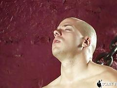 gay blowjob, gay kissing, muscled gays, bald gay, undressing, scary fuckers, michael troy, peter shadow