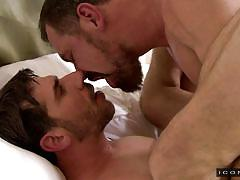 old gay, gay blowjob, gay anal, gay kissing, bearded gay, hairy gay ass, jerking, missionary, icon male, max sargent, tony salerno