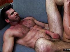 Horny hairy gay guys having anal sex @ sugar daddies 3