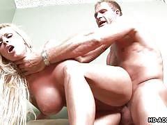 big ass, big tits, mature, riding, blowjob, pussy licking, from behind, blonde milf, tit groping, matures hd, holly halston