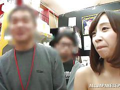 small tits, public masturbation, vibrator, brunette, japanese public, censored, asian babe, pussy insertion, public sex japan, all japanese pass, ayumi kimino