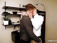 Two horny gay dudes having hardcore fun-time