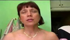Russian mature takes 3 cocks
