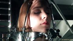 Multiple orgasms in bdsm session for a naughty slave girl