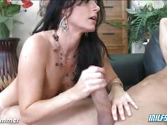 Brunette india summer gets her ass fucked hard