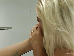 milf, tattoo, blonde, shemale, fingering, brunette, pussy eating, transsexual, feet fetish, sucking feet, ts pussy hunters, kink, ts foxxy, dylan ryan