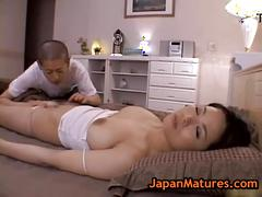 Miki sato and young boy - wake up (part 3 of 9)
