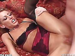 hardcore, whiteghetto.com, verbal, blonde, milf, small tits, shaved, lingerie, creampie, gang bang, face fucking, spit roast, cum in mouth, dirty talk