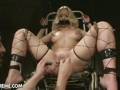 Gina's bdsm and cum facial