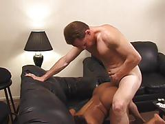 ebony, tube8.com, cock sucking, oral, orgasm, busty, cowgirl, trimmed pussy, ass fucking, doggy style, facial