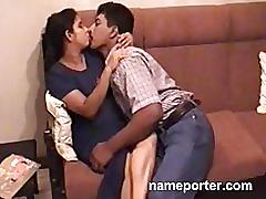 Indian aunty fucking with husbands friend