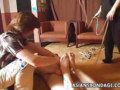 small tits, hanging, asian bondage, brunette, asian babe, asians bondage