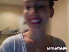 Lelu love-webcam: new house tour bath masturbation