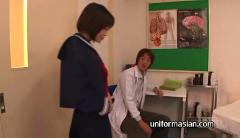 Asian slim tiny tits schoolgirl and doctor