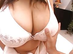 Asian with giant tits
