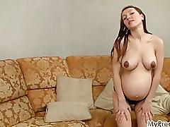 Pregnant anya #02 from mypreggo.com